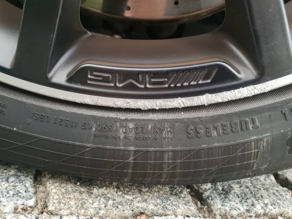 Felgenreparatur Mercedes Benz AMG Felge