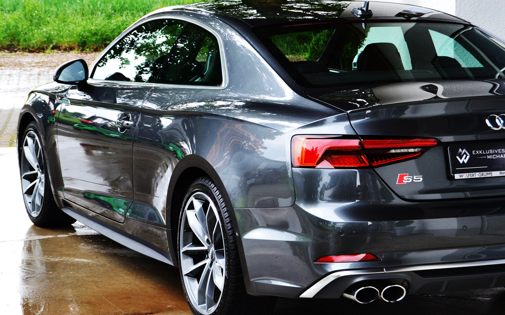 Audi S5 mit Versiegelung